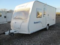 bailey ranger series 5 460/4 four berth touring caravan year 2007 fixed bed layout very nice caravan