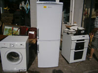 6 FOOT HOTPOINT FRIDGE FREEZER IN GOOD CLEAN USED CONDITION IN YEOVIL