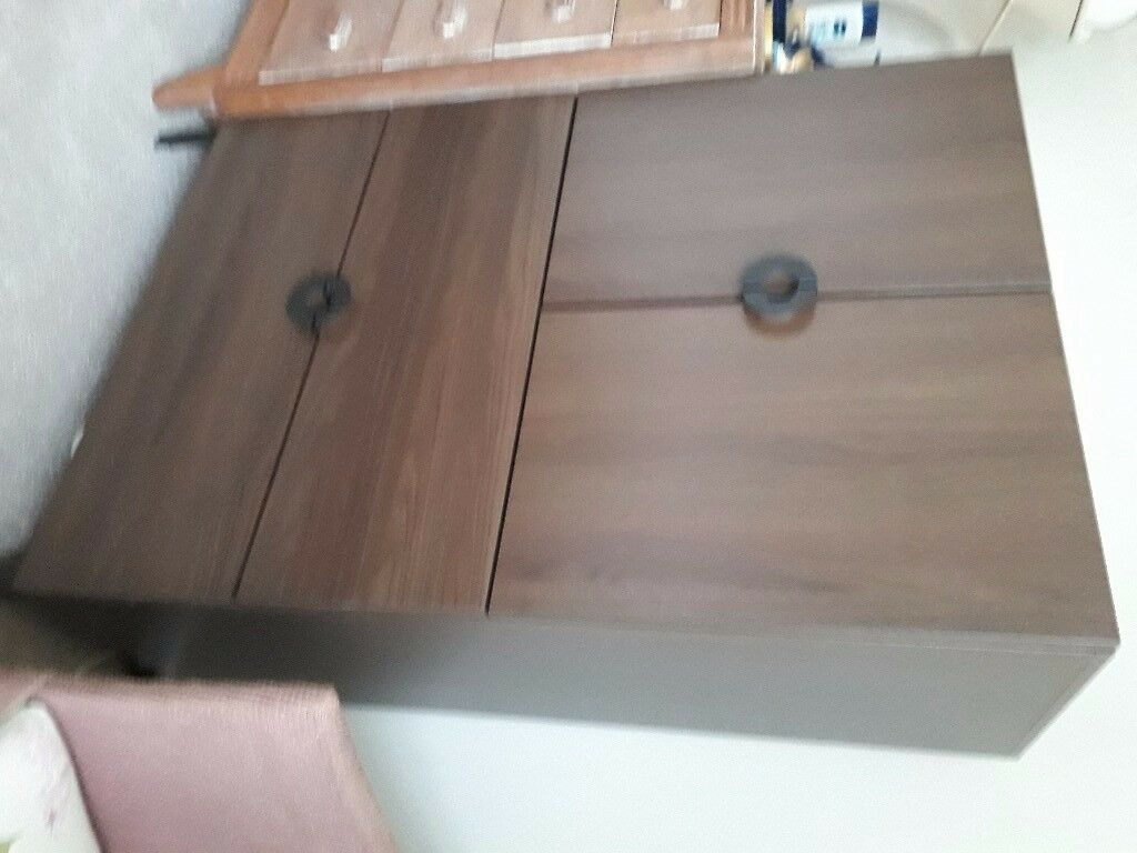 Ikea bedroom cabinet with 2 drawers, good condition