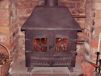 Multi-Fuel Stove - Wood and Coal Burner - with Integral Boiler