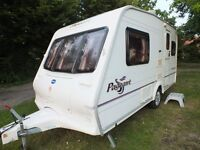 2 BERTH BAILEY PAGEANT MAJESTIC CARAVAN 2003 + AWNING +EXTRAS