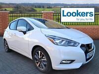 Nissan Micra IG-T ACENTA (white) 2017-04-30