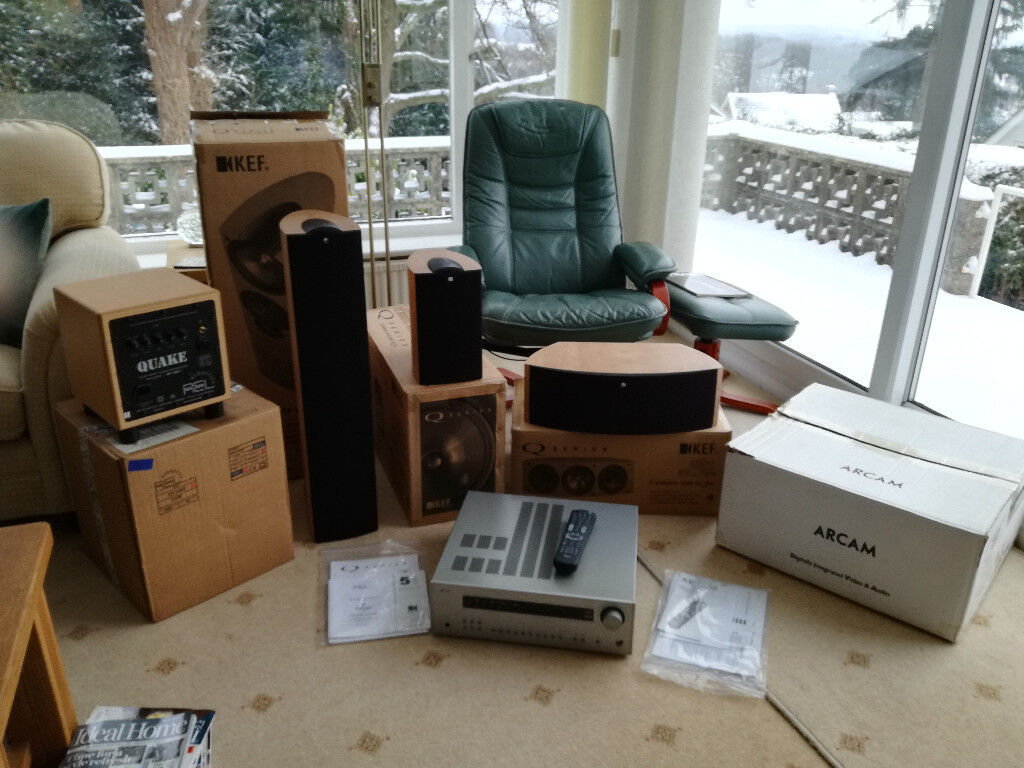 Home Cinema ARCAM Amplifier, KEF iQ Speakers, REL Quake Sub Woofer | in  Wimborne, Dorset | Gumtree