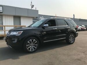 2016 Ford Explorer Platinum ECOBOOST 4WD Fully Loaded Navi Sunro