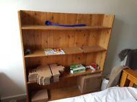Half a giant bookcase