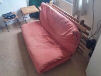 Bargain double futon in good condition (mattress and frame)