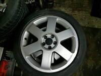 "Audi A3 Vw Golf Bora 17"" with 225 45 17 "" tyers"