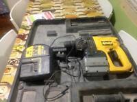 DeWalt 24v Cordless SDS drill
