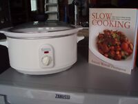 SLOW COOKER AND HARD BACK RECIPE BOOK