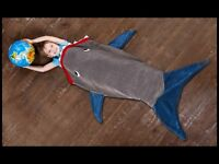 Kids 'shark' blanket