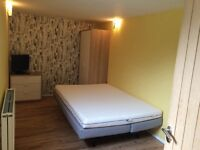 A double bed available in High Barnet