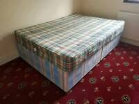 Double bed and Baroness mattress