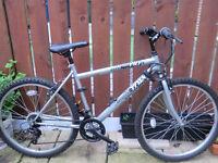 """Trax Shimano Equipped Mens Mountain Bike 26"""" Wheels"""