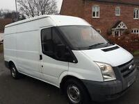 Ford transit van 2007 56 plate t260 mwb 2 owner 12 months mot drives great no vat £1899