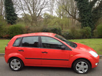 FORD FIESTA 1.4 TDCI ZETEC DIESEL-1 OWNER £30 A YEAR ROAD TAX-FULL SERVICE HISTORY-WE CAN DELIVER 2U