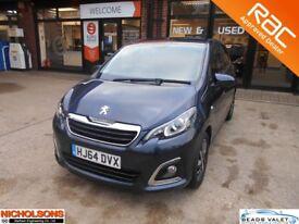 Peugeot 108 1.2 VTi PureTech (82bhp) Allure 5d