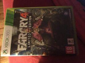 Far cry 4 limited edition Xbox 360
