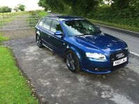 Audi A4 Avant 2.0tdi S-line special edition 170bhp