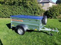 New Trailer 6x4 double broadside £650 inc vat