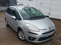 CITROEN PICASSO HDI 1.6 DIESEL............AUTOMATIC........ IDEAL FAMILY CAR. LOW MILEAGE. CHEAP