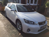 Lexus CT200 Excellent Spec Beautiful car, VGC, quick sale required *** £9,250.00 *** ONO