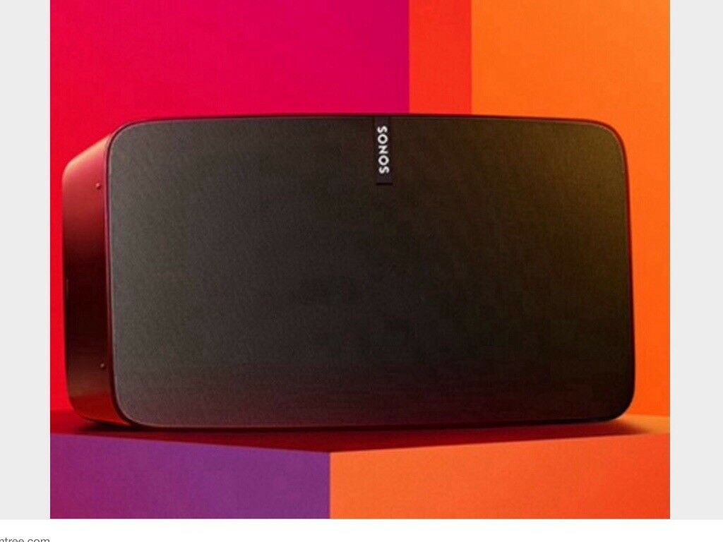 Sonos Play 5 in black (BRAND NEW & SEALED)