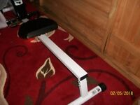 digital folding rowing machine - new cost £159