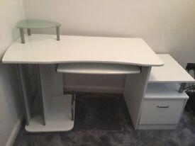 Gloss White Desk