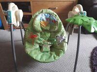 baby swinging rocking chair
