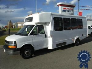 2014 Chevrolet Express 4500 Bus - 21 Passenger - Rear Luggage
