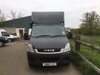 iveco daily luton box with tail lift .2011. automatic.excellent runner.ready for work