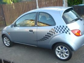 STUNNING FORD KA ZETEC,AND SO EASY TO DRIVE AN VERY ECONOMICAL