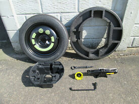 spare wheel kit citroen c3 picasso