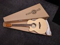 Single Cutaway LEFT Handed electro acoustic guitar