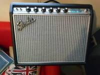 Fender amp Princeton 68 Reverb