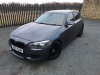 2012 12 BMW 118 D SE *DIESEL* 5 DOOR HATCHBACK - *6 SPEED MANUAL* - ONLY 2 FORMER KEEPERS FROM NEW!