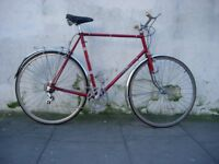 Vintage Mens Road/ Touring/ Commuter Bike Falcon, 63 cm, Reynolds 531, JUST SERVICED/ CHEAP PRICE!!!