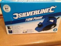 Brand new in box electric planer, unwanted gift.