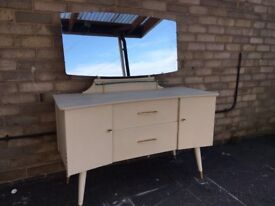 DRESSING TABLE MID CENTURY MODERN 1960S THE JETSONS G PLAN ERCOL STYLE