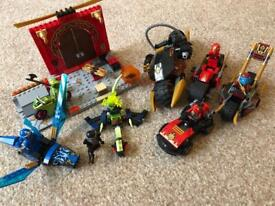 Mixed Lego Ninjago Set