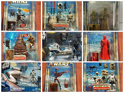 Star Wars Clone Wars Ultimate Collection Lot Darth Vador Han C3po R2D2 Yoda New - Darth Vador
