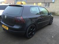 golf mk5 gti rep low mileage
