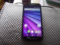 Motorola Moto G 3RD Generation.