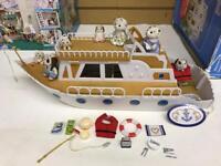 Sylvanian Families pleasure boat