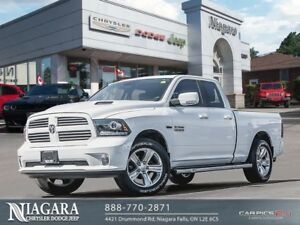 2017 Ram 1500 SPORT | QUAD CAB | NAVI | HEATED PCKG | 20 ALLOYS
