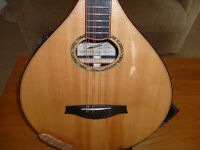 """Lewis"" Bouzouki with ""Fishman"" pick up system and case. SUPERB"