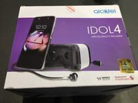 Alcatel IDOL 4 phone brand new in box with virtual reality headset