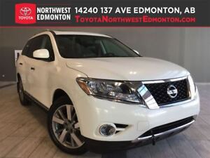 2014 Nissan Pathfinder Platinum | H/C Leather Seats | Heat Wheel