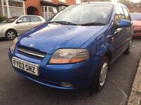 Daewoo Kalos 1.4 Petrol Manual