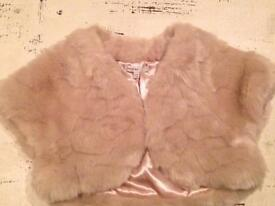 Girls lush fur bolero by Autograph @ M&S - Age 9/10